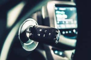 Modern Car Ignition Keys