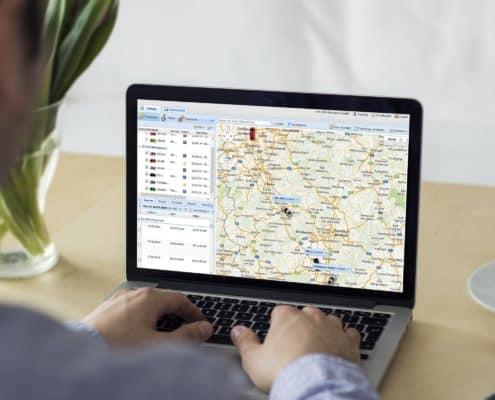 Online Portal Fahrzeugortung