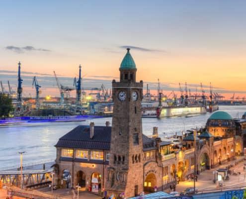Hamburg Landungsbrcken