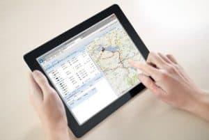 Spurenverfolgung PTC GPS