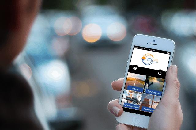 GPS-eFahrtenbuch-App